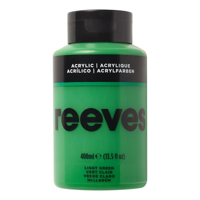 Akrylfärg Reeves 400ml LIGHT GREEN 420