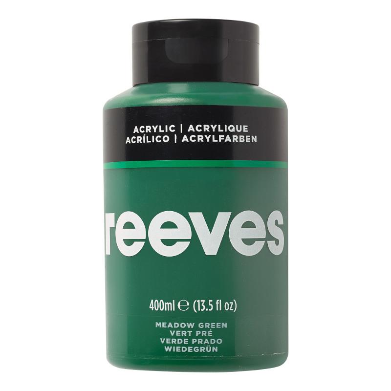 Akrylfärg Reeves 400ml GRASS GREEN 440