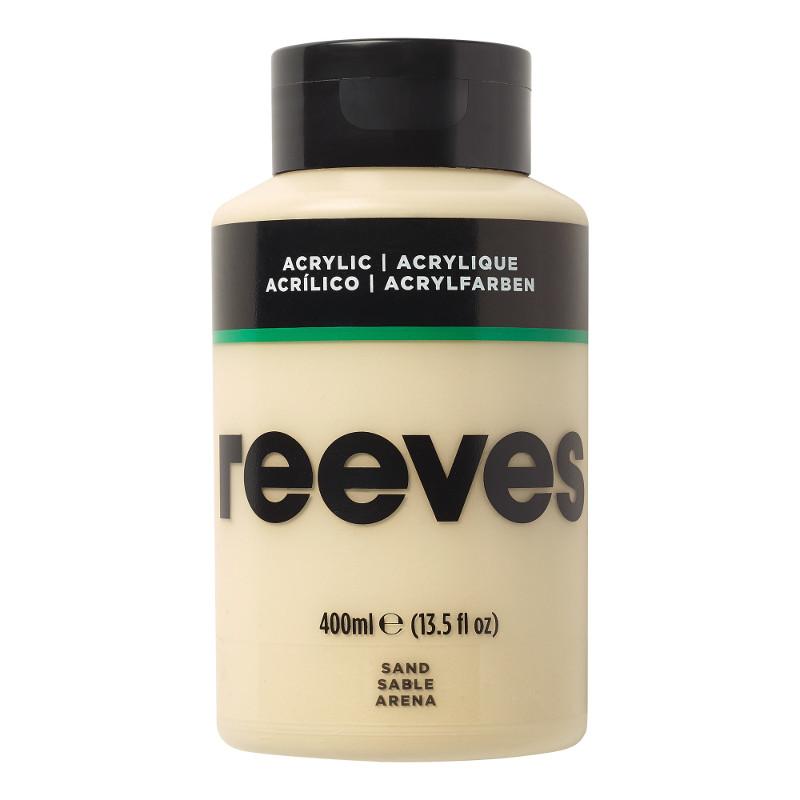 Akrylfärg Reeves 400ml ML SAND 493