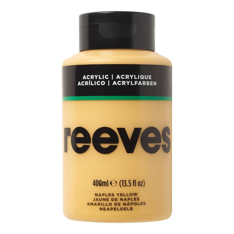 Akrylfärg Reeves 400ml NAPLES YELLOW 495