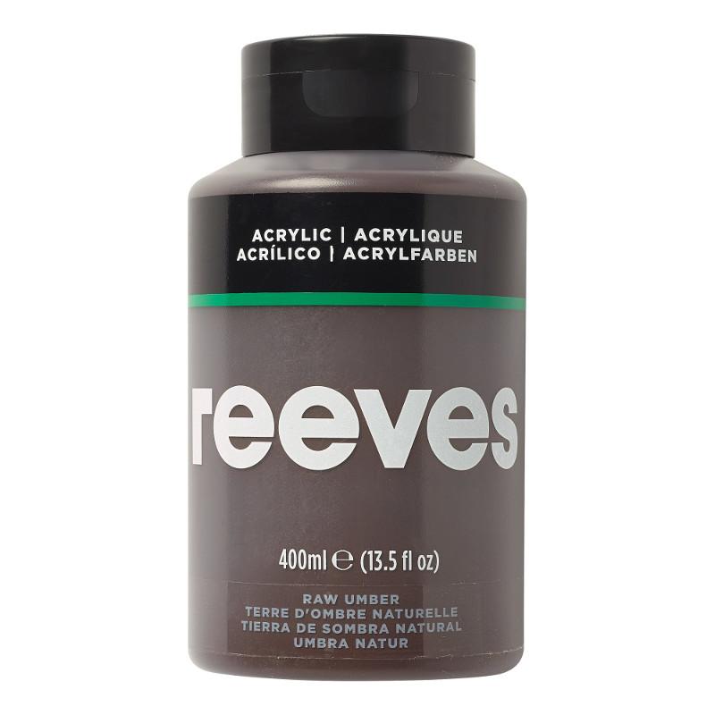 Akrylfärg Reeves 400ml RAW UMBER 540