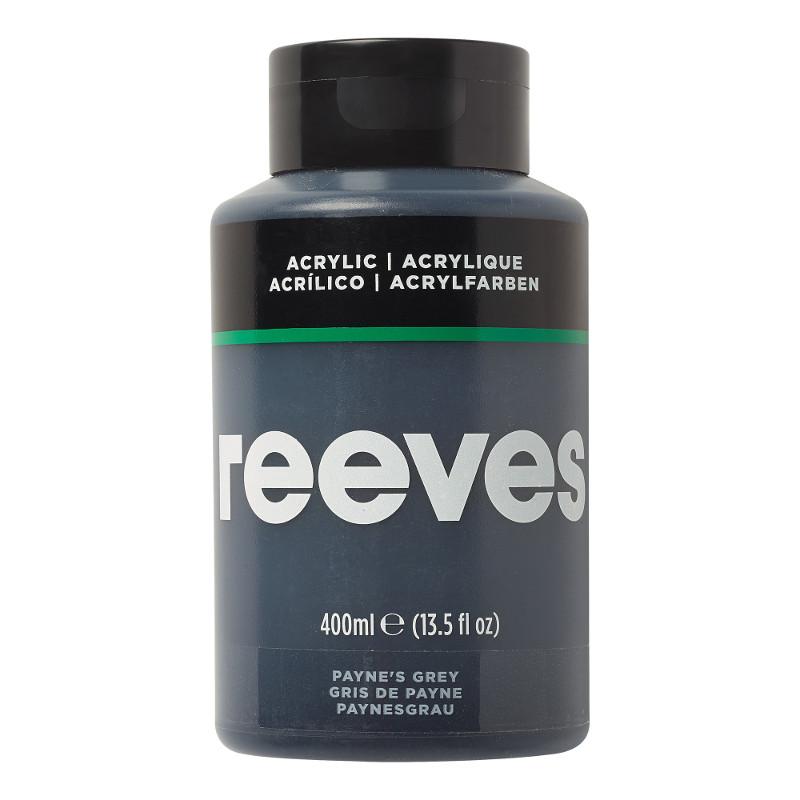 Akrylfärg Reeves 400ml PAYNES GREY 610