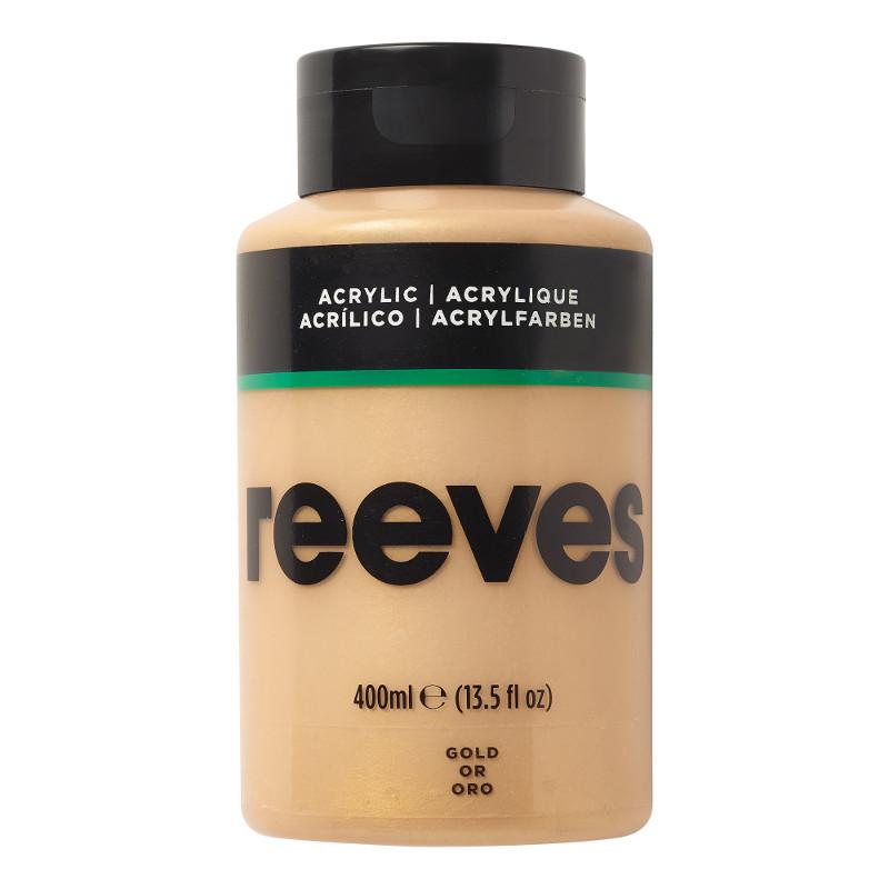 Akrylfärg Reeves 400ml GOLD 800