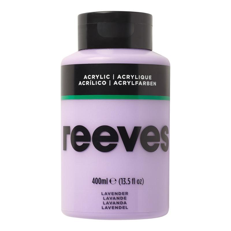 Akrylfärg Reeves 400ml LAVENDER 305