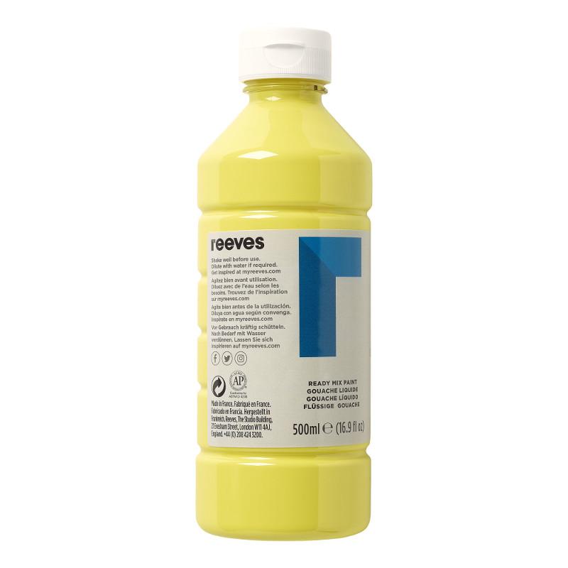 Skolfärg Redimix Reeves Intro 500 ml Lemon yellow