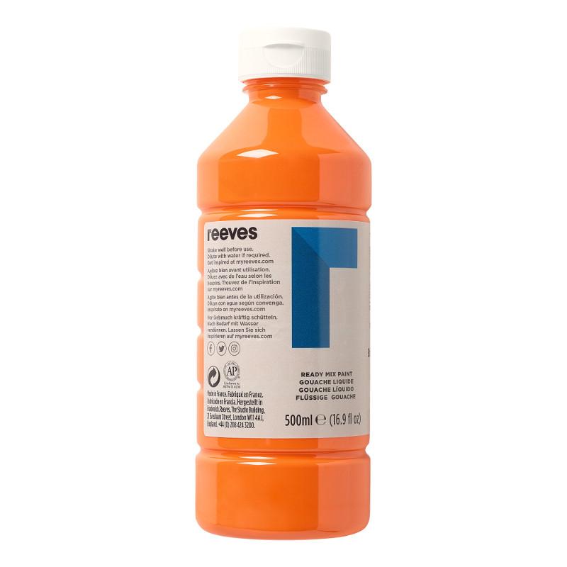 Skolfärg Redimix Reeves Intro 500 ml Brilliant orange