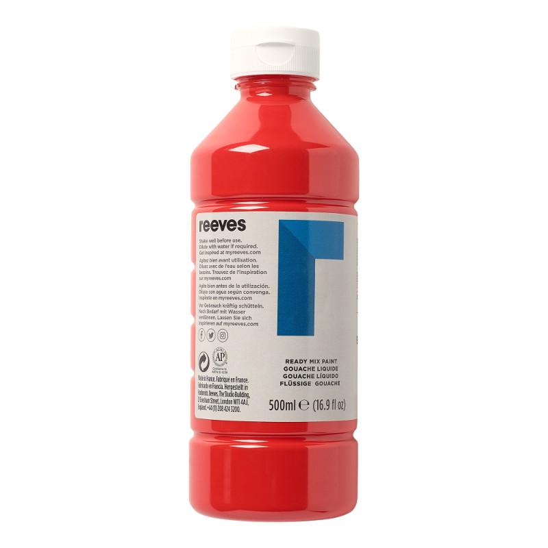 Skolfärg Redimix Reeves Intro 500 ml Brilliant red