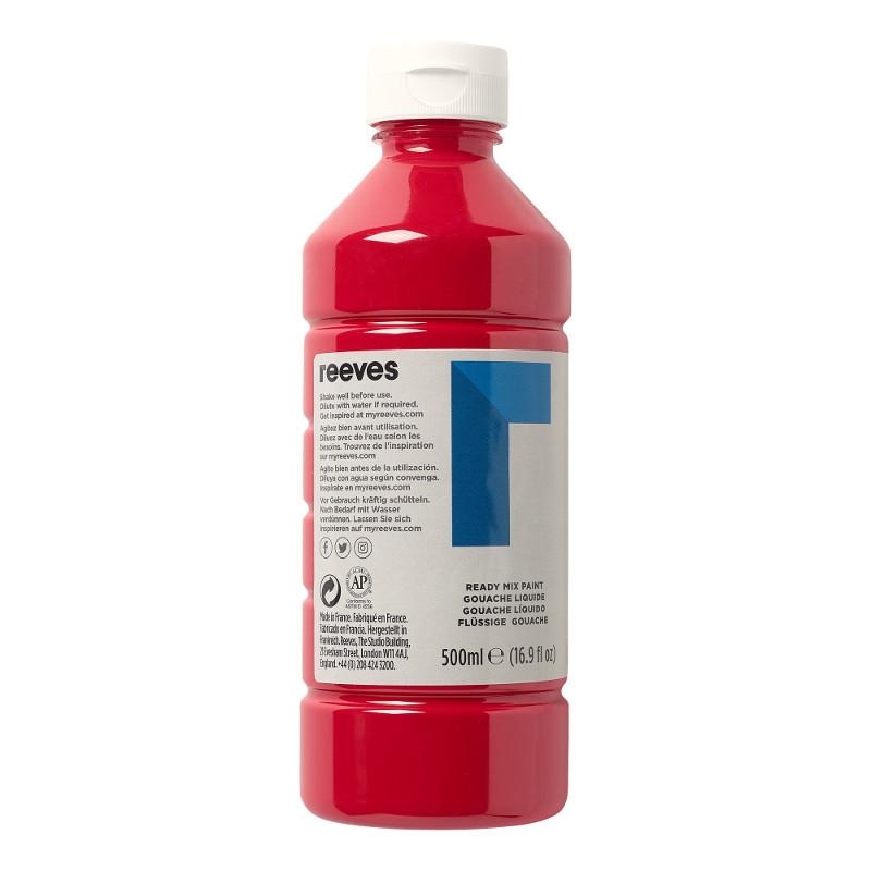 Skolfärg Redimix Reeves Intro 500 ml Crimson