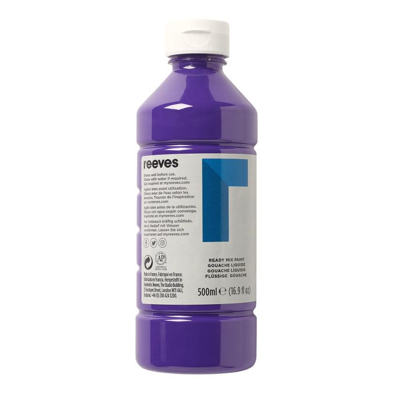 Skolfärg Redimix Reeves Intro 500 ml Purple