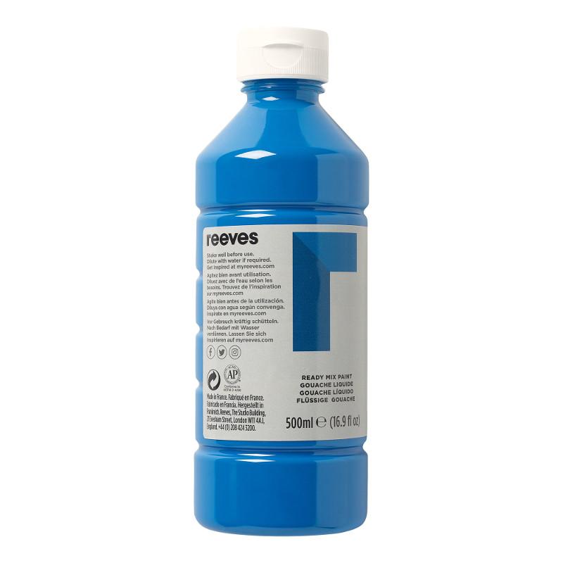Skolfärg Redimix Reeves Intro 500 ml Cyan