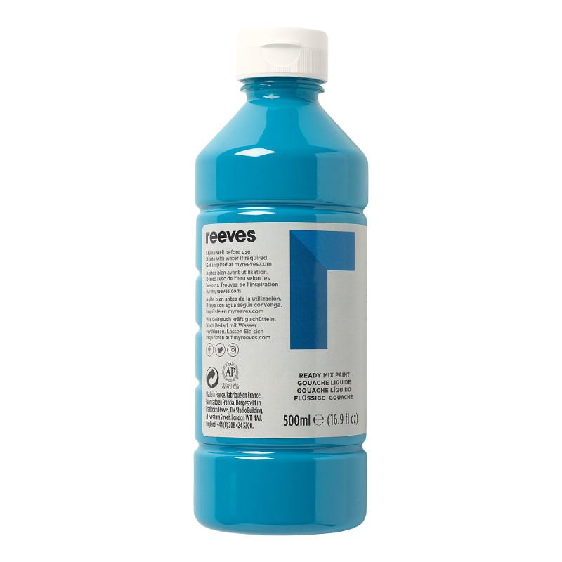 Skolfärg Redimix Reeves Intro 500 ml Turquoise