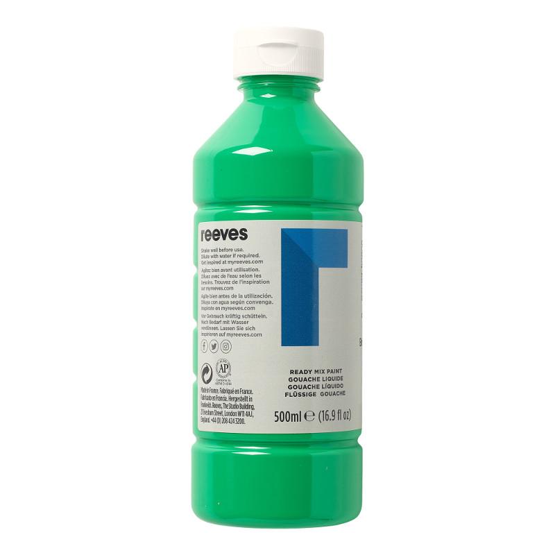 Skolfärg Redimix Reeves Intro 500 ml Brilliant green
