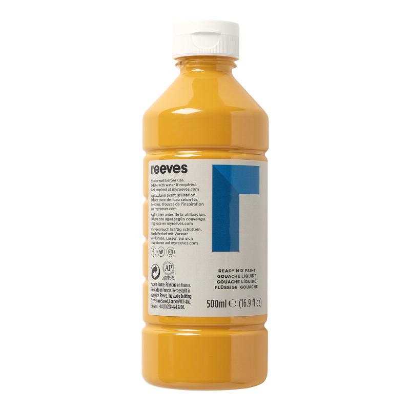 Skolfärg Redimix Reeves Intro 500 ml Yellow ochre