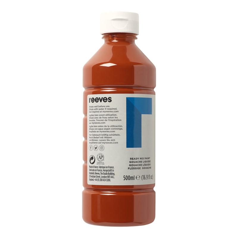 Skolfärg Redimix Reeves Intro 500 ml Burnt sienna