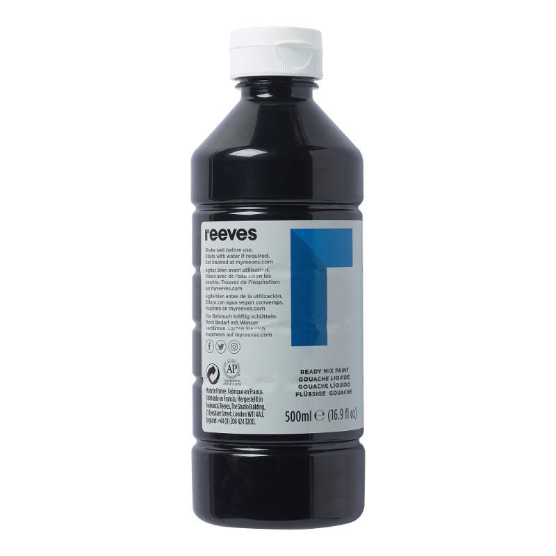 Skolfärg Redimix Reeves Intro 500 ml Black