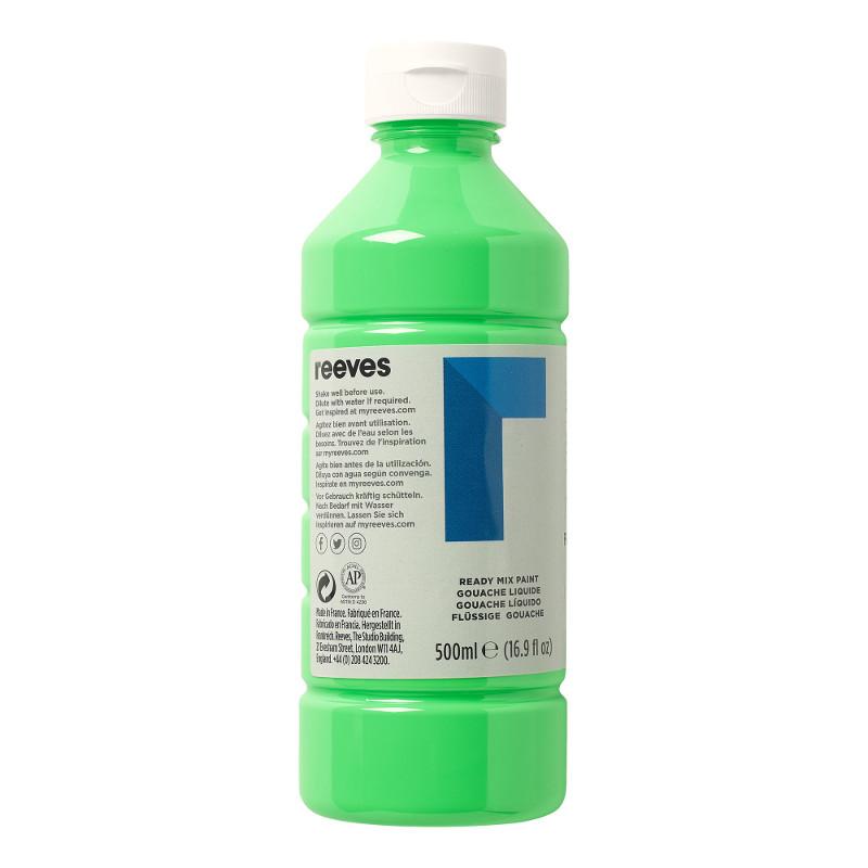 Skolfärg Redimix Reeves Intro 500 ml Fluo green