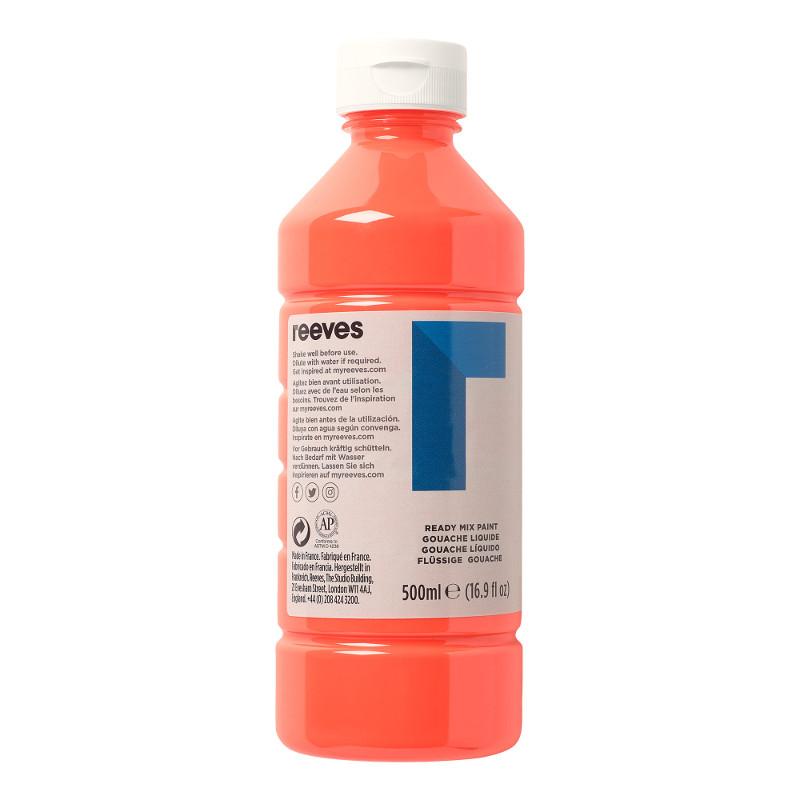 Skolfärg Redimix Reeves Intro 500 ml Fluo orange