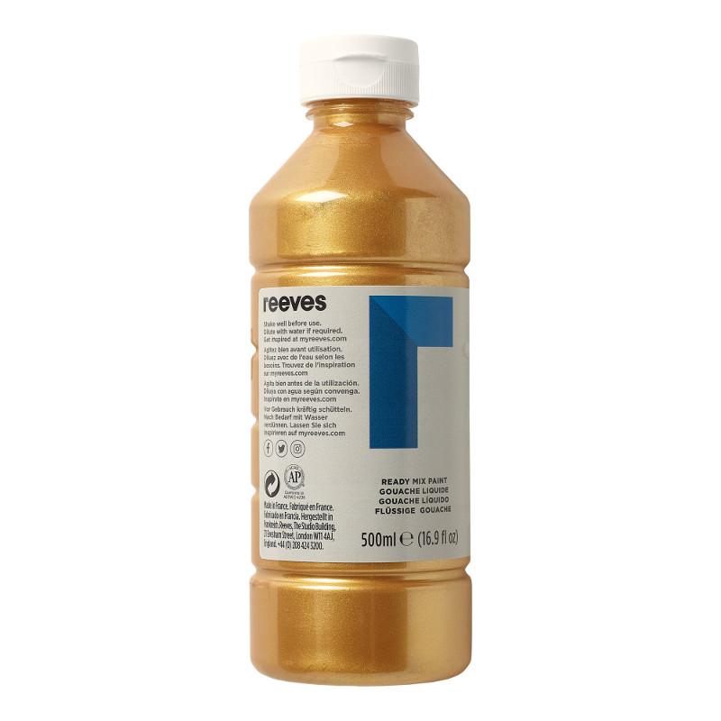 Skolfärg Redimix Reeves Intro 500 ml Gold