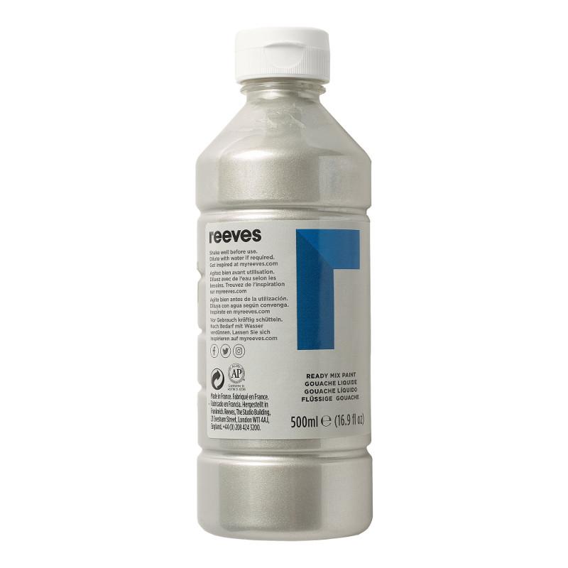 Skolfärg Redimix Reeves Intro 500 ml Silver