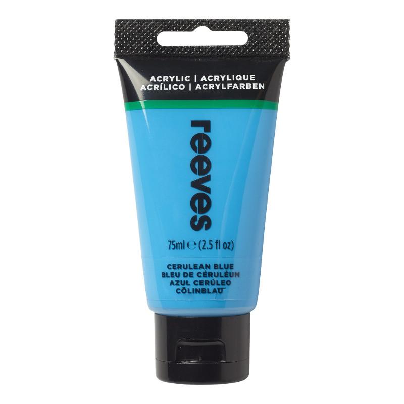 Akrylfärg Reeves 75ml Cerulean blue hue (5F)