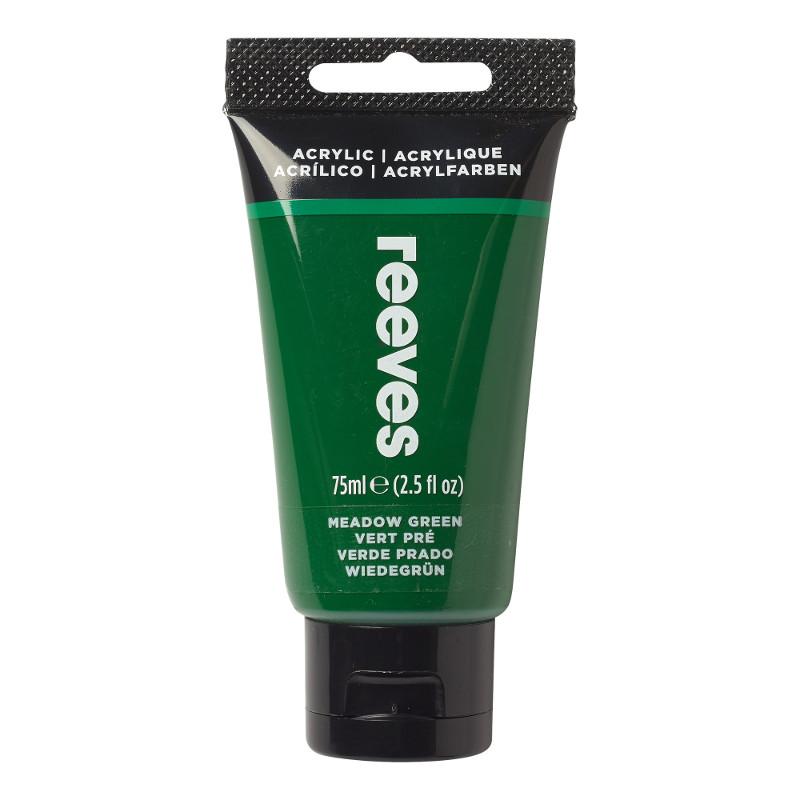 Akrylfärg Reeves 75ml Grass green (5F)