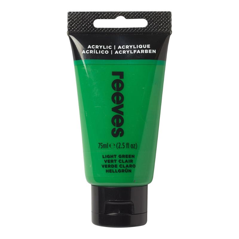 Akrylfärg Reeves 75ml Light green (5F)