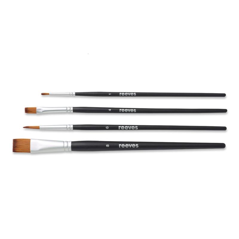 Syntetpenselset Reeves Beginners brush set (SH) water colour (6F)