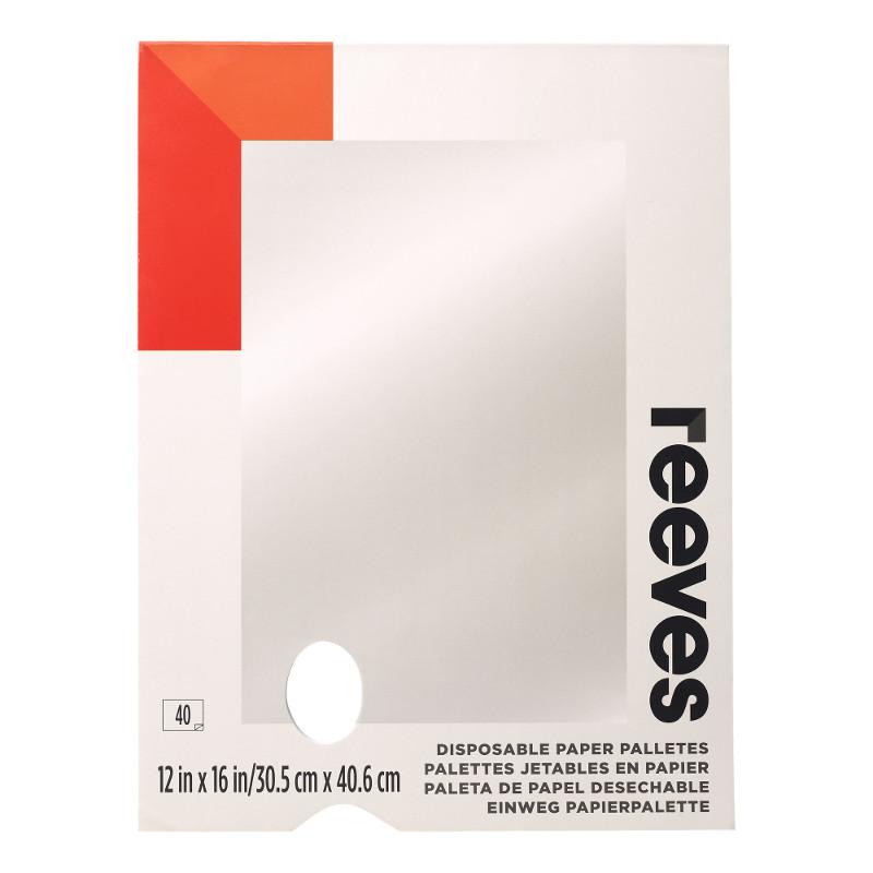 Avrivningspalett Reeves 30,5x40,6 cm