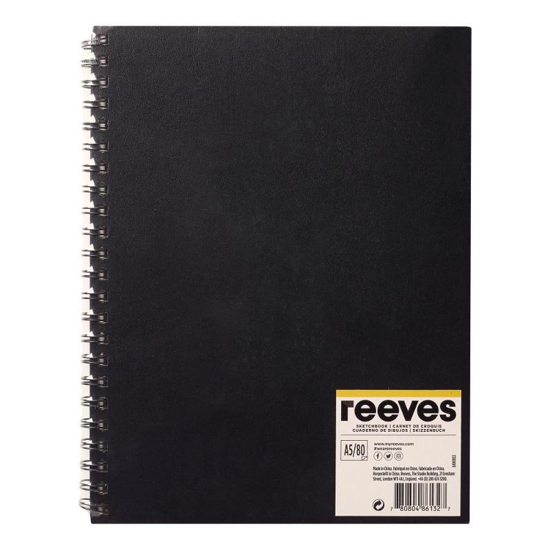 Skissbok Reeves A5  SPIRAL (6F)