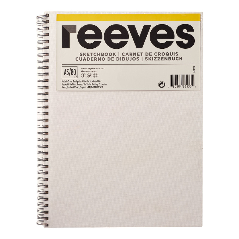 Skissbok Reeves A3 CANVAS  (12F)