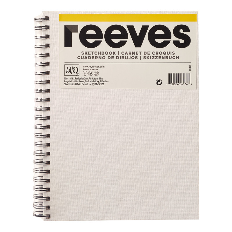 Skissbok Reeves A4 CANVAS  (24F)