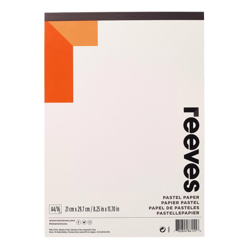 Pastellblock Reeves Pastel Pad A4 180g 16ark (6F)