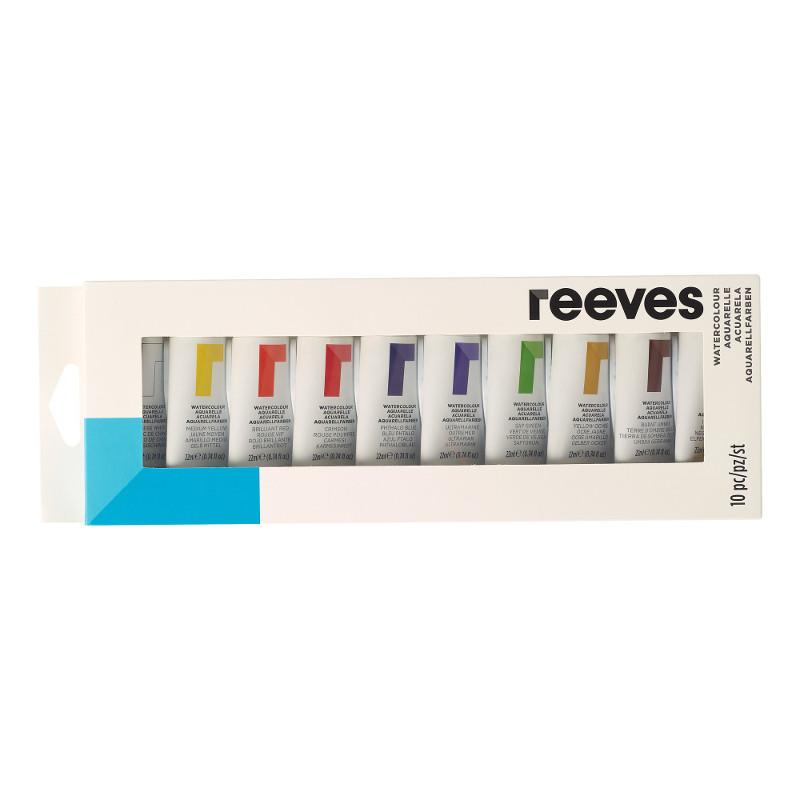 Akvarellset Reeves Akvarelltubset 10 x 22 ml