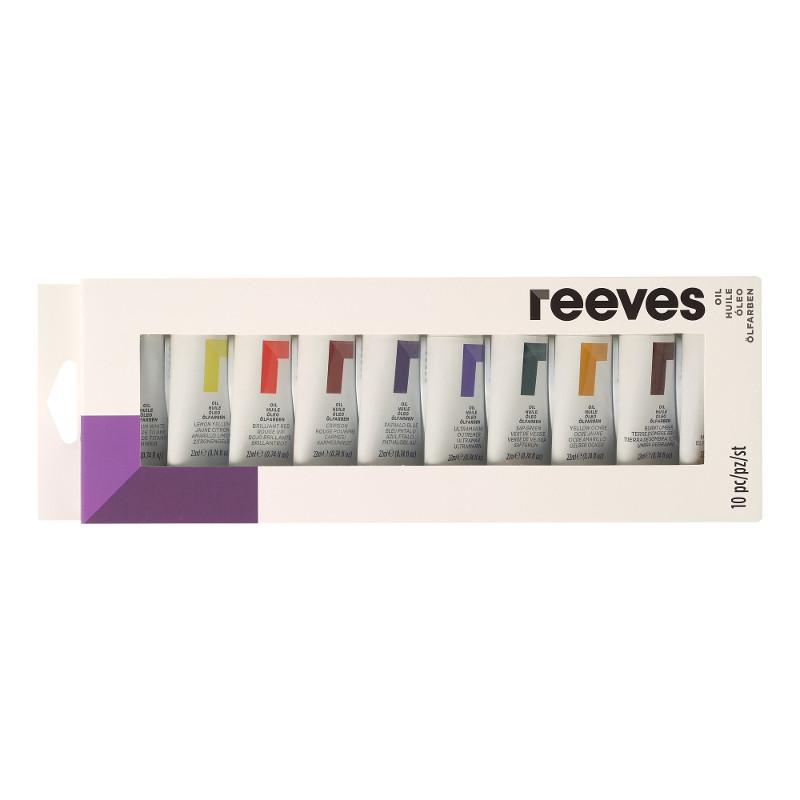 Oljefärgset Reeves Oil set 10 x 22 ml (6F)