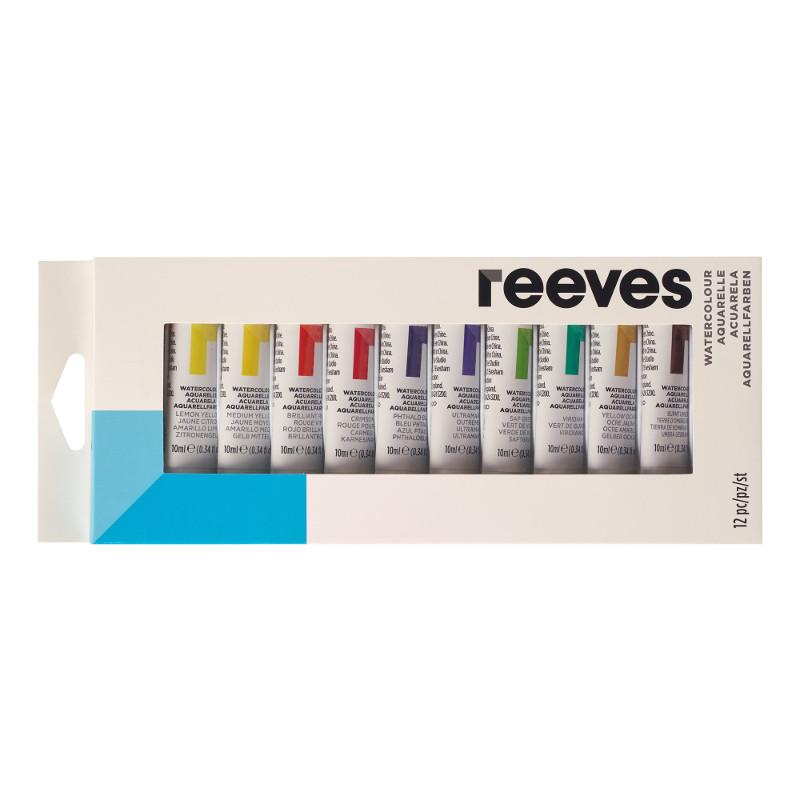 Akvarellset Reeves Watercolour set 12x10 ml (6F)