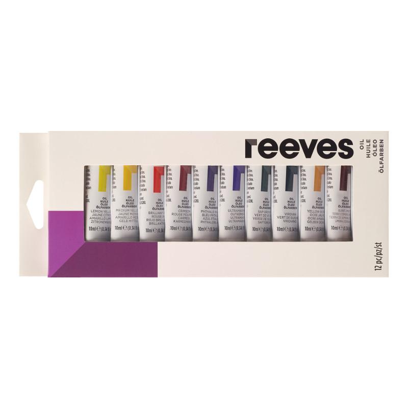 Oljefärgset Reeves Oil set 12x10 ml (6F)