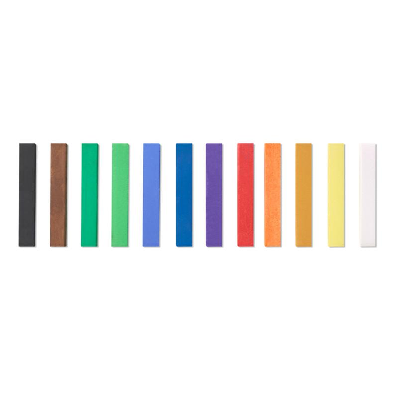 Pastellfärgset Reeves Torrpastell 12 st (6F)