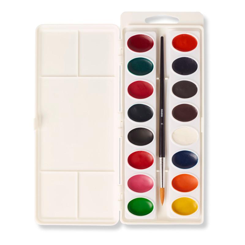 Akvarellset Reeves Akvarelllåda 16 färger (6F)