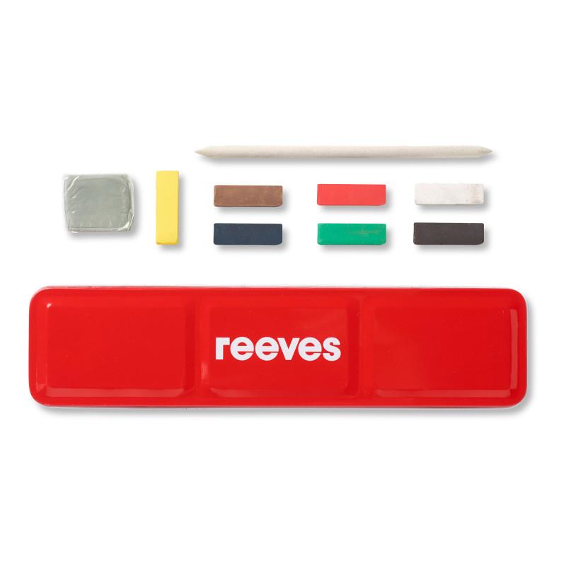Pastellfärgset Reeves Pastellask (6F)
