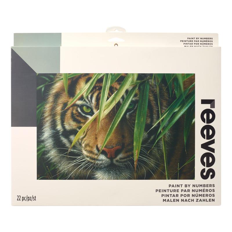 Måla efter nummer Reeves 30x40cm Tiger PBNACL16 (6F)