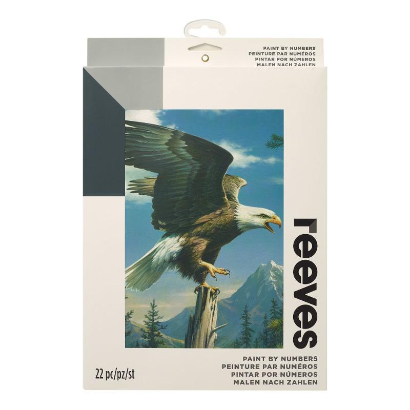 Måla efter nummer Reeves 22x30cm Screaming Eagle PBNACM9 (6F)