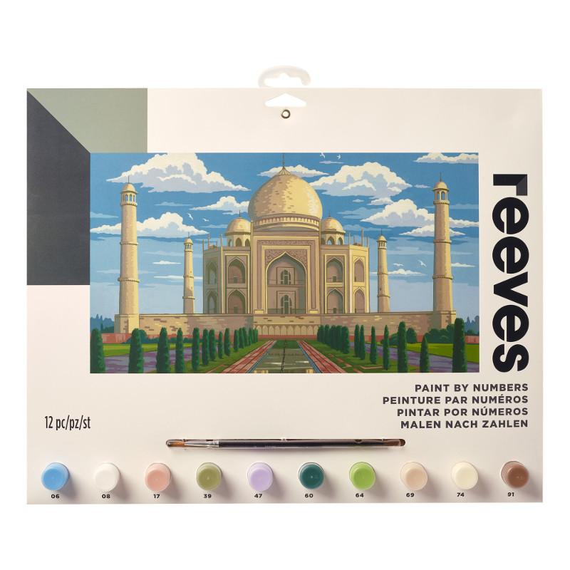 Måla efter nummer Reeves 30x40cm Taj Mahal PL110 (6F)