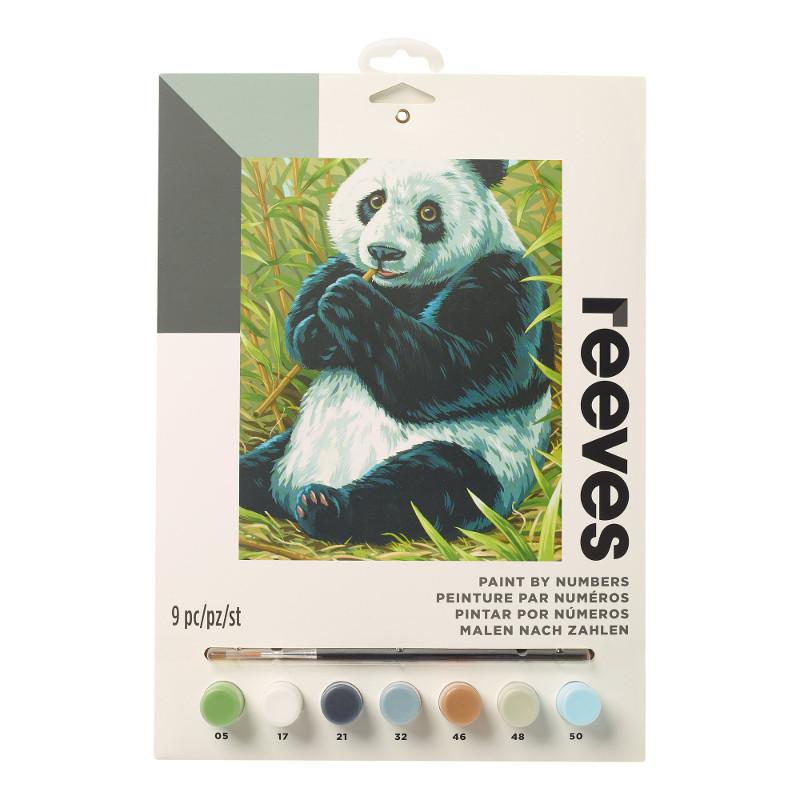 Måla efter nummer Reeves 22x30cm Panda PPNJ204 (6F)