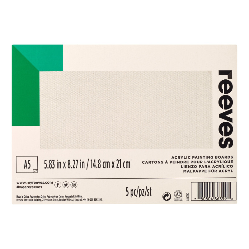 Akrylpannå Reeves A5 (12F)