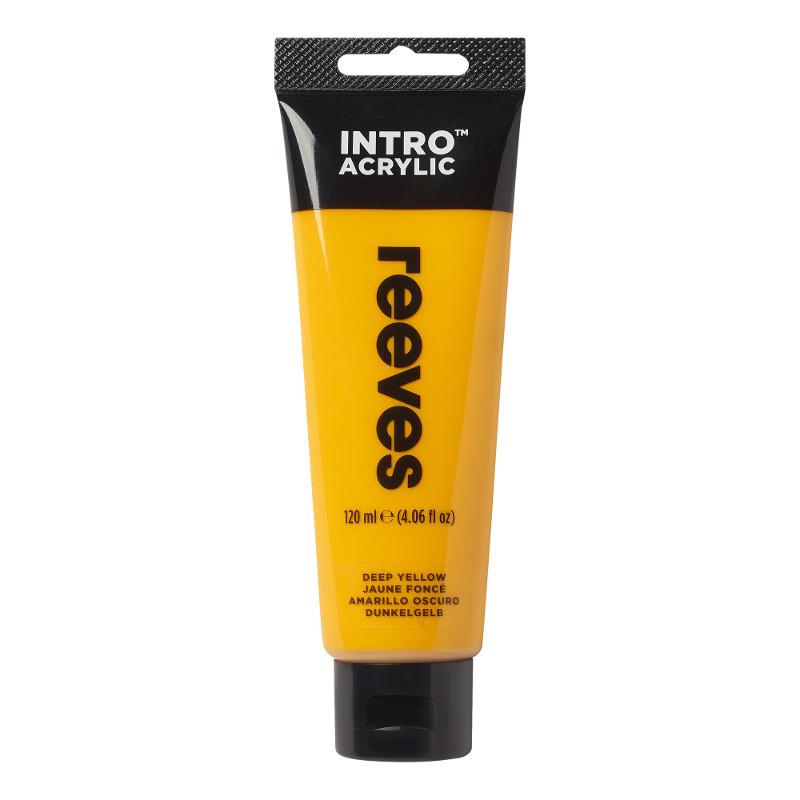 Akrylfärg Reeves Intro 120 ml Deep Yellow 140 (5F)