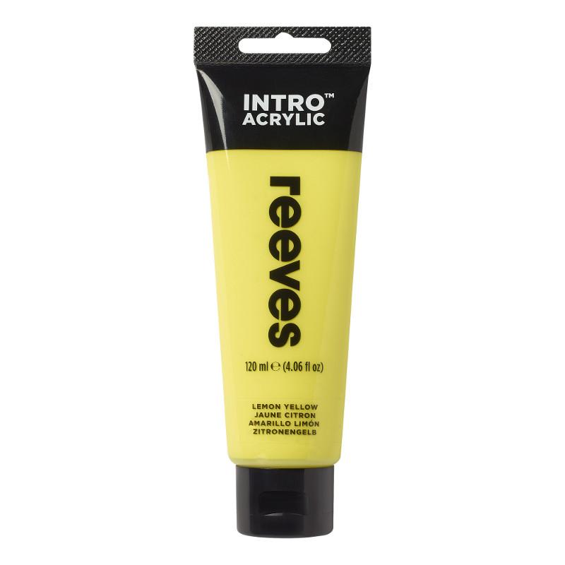 Akrylfärg Reeves Intro 120 ml Lemon Yellow 100 (5F)