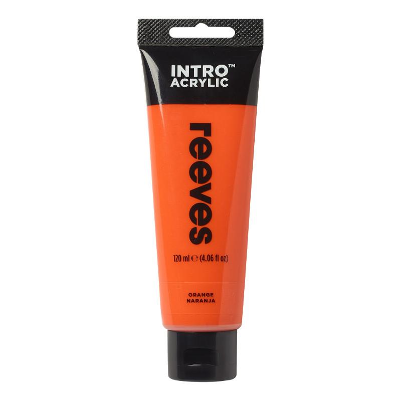 Akrylfärg Reeves Intro 120 ml Orange 150 (5F)