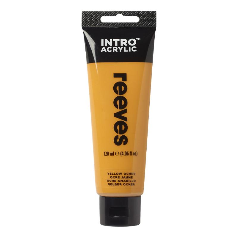Akrylfärg Reeves Intro 120 ml Yellow Ochre 500 (5F)