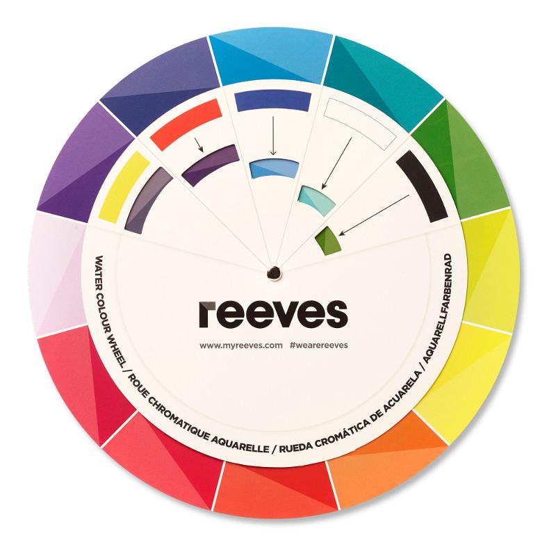 Färgsnurra Reeves Akvarell (6F)