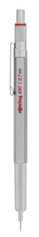 Rotring 600 Silver MP 0,7 X 1